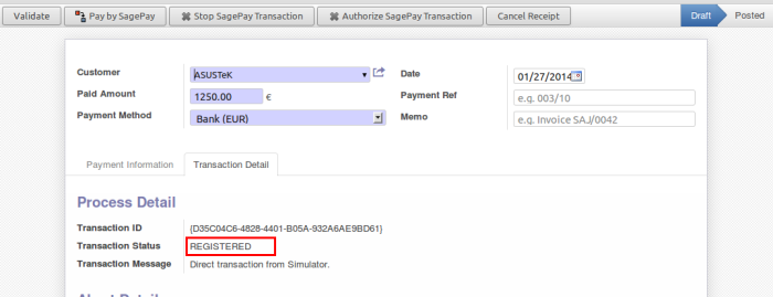 Authenticate Transaction