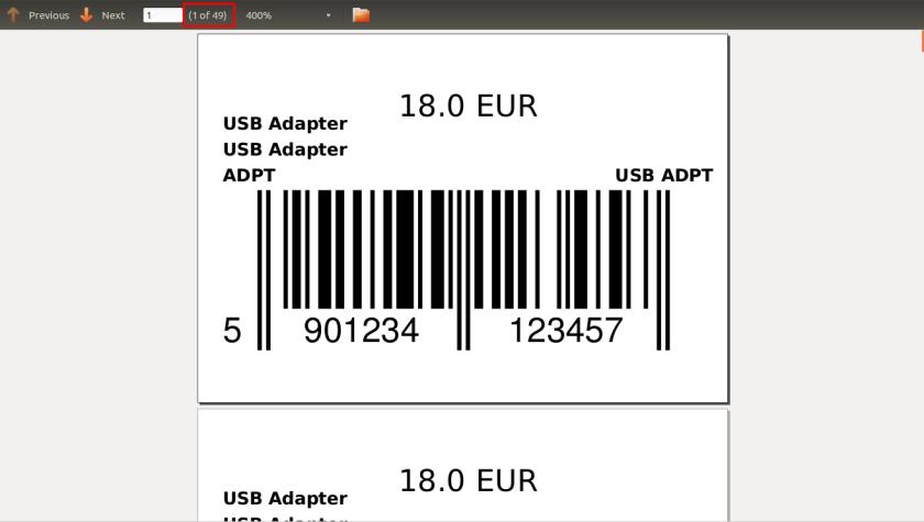 Barcode PDF