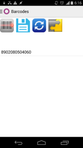 Odoo android barcode app