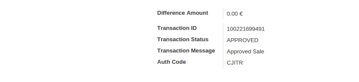 BluePay Payment Status