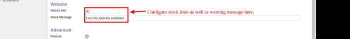 Configure In Website
