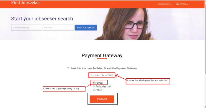 Django Jobseekar Select Gateway