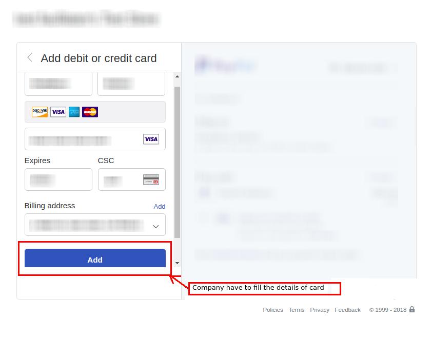Django Jobseeker Credit Card Detail