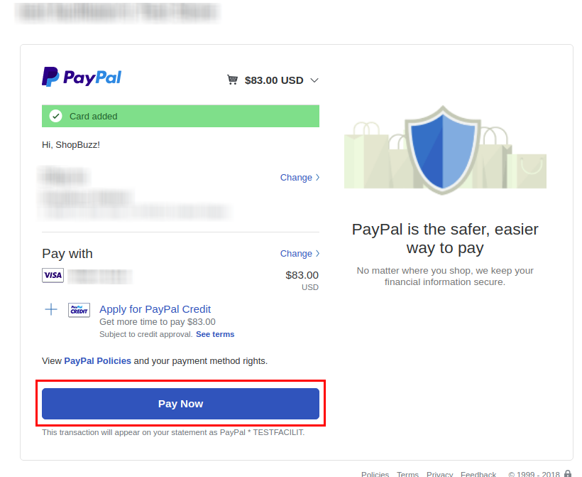 Paypal payment gateway connection in Django | Acespritech