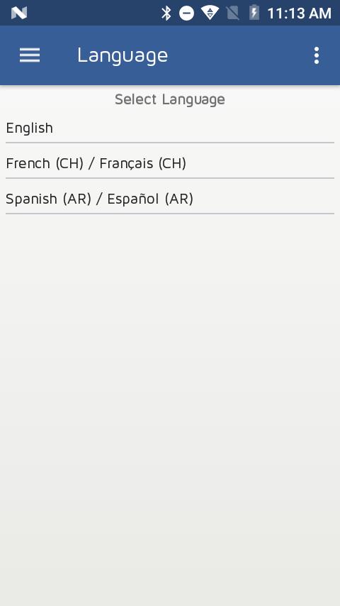 User Languages