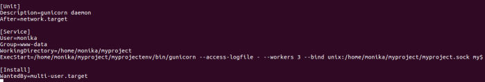 Open Service File