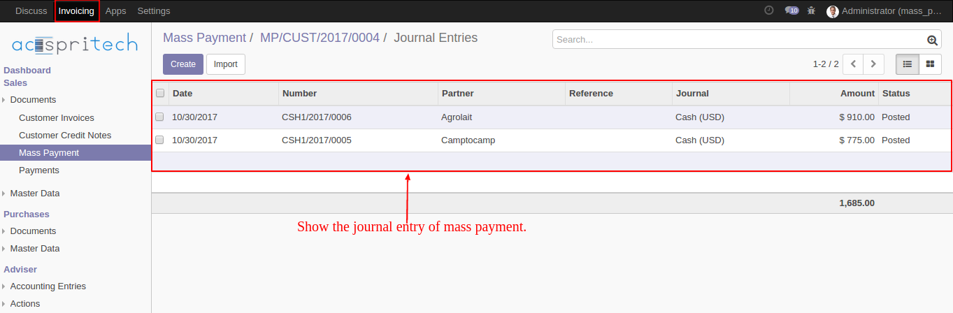 Mass Payment